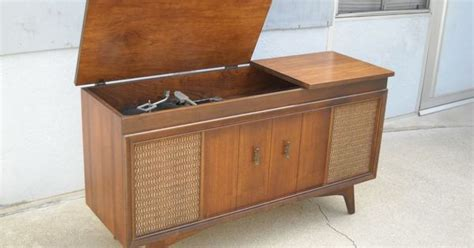 antique dresser craigslist vancouver mid century modern record player console am fm stereo by