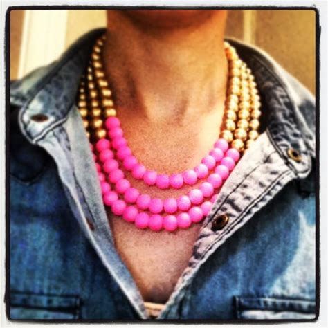 neon and gold necklace erin mcdermott jewelry