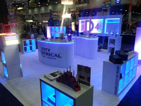 led lighting trade shows how to light a trade show booth