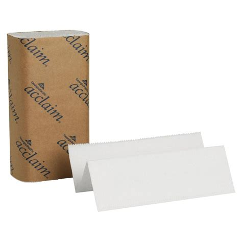 Fold Paper Towel - pacific acclaim white multi fold paper towels