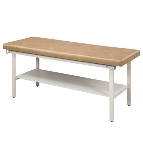 Table Top Shelving Flat Top Alpha S Series Line Treatment Table With