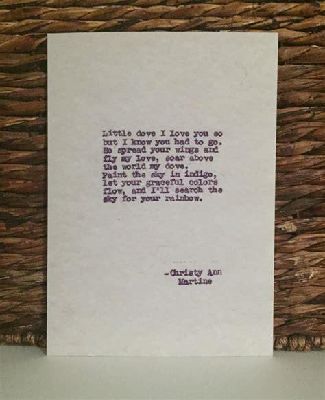 comfort in death poems sympathy gifts poem print little dove sympathy poem
