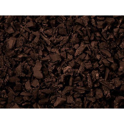 Lowes Rubber Mulch Nuggets shop replay 75 cu ft rubber nuggets brown bulk mulch