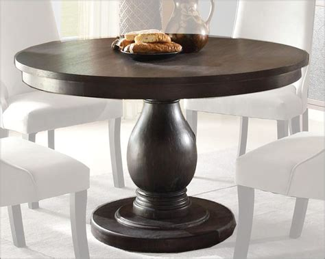 homelegance pedestal dining table dandelion el 2466 48