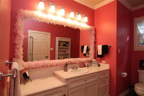 girly bathroom decor girly girl bathroom remodel contemporary bathroom austin by on time baths