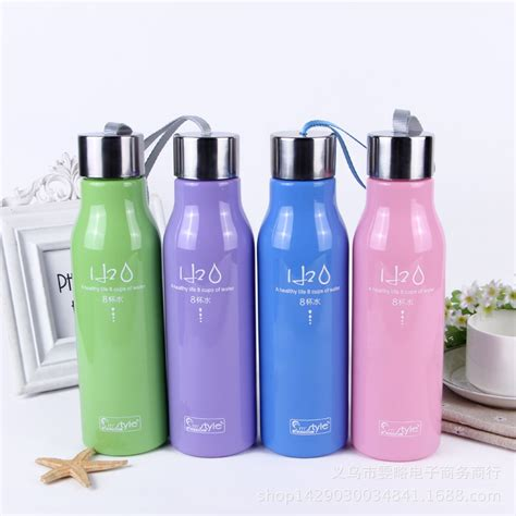 Botol Air Minum Ukuran 600ml botol minum h2o a healthy unbreakable bottle 600ml