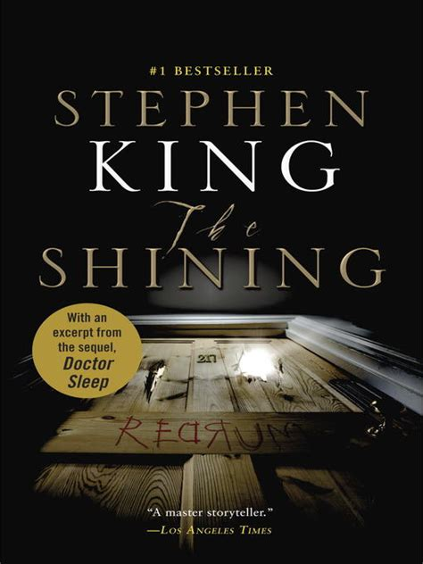 doctor sleep shining book 1444761161 the shining indianapolis public library overdrive