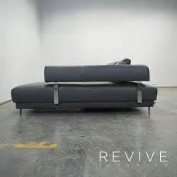 schillig sofa gebraucht ewald schillig designer leder eck sofa grau schwarz