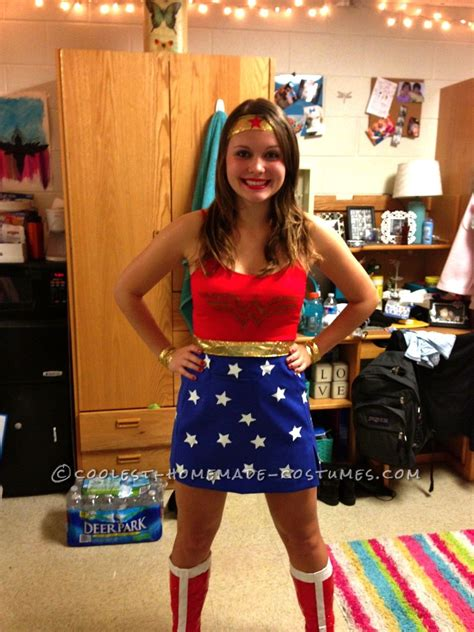 cool homemade  woman costume woman costumes