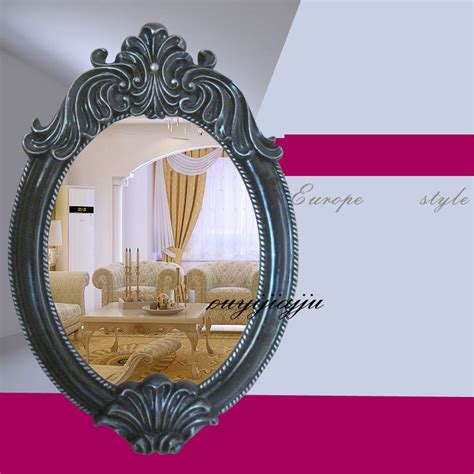Handmade Mirror - large oval handmade luxury decorative salon mirror buy