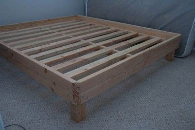 wooden bed frame perfect   air mattress
