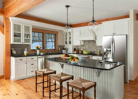 Frame Kitchen by Planning Your Timber Frame Kitchen Davis Frame