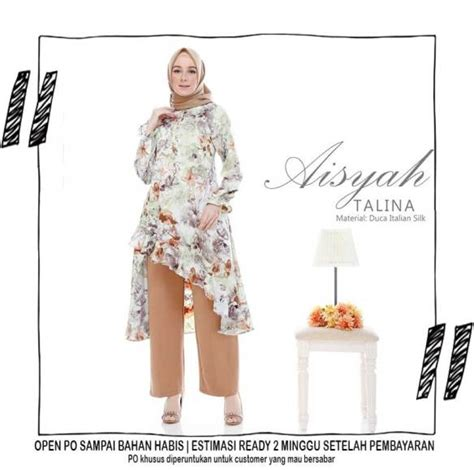 Tunic Morra Bisa Custom tunic for wa 08127 60 888 06 pusat busana muslim indonesia