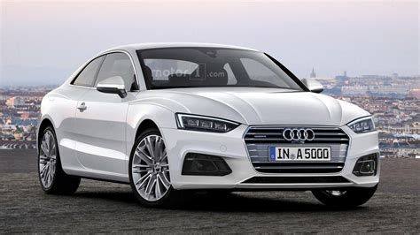 A 5 Audi by 2017 Audi A5 Coupe Looks Rather Stylish In New Rendering