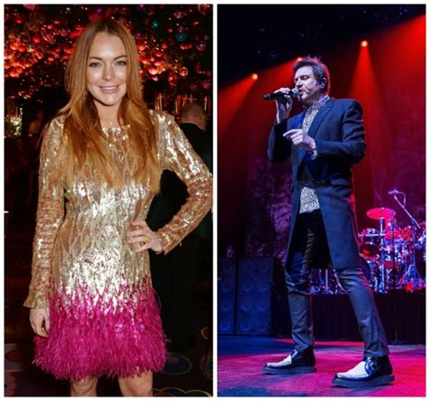 Lindsay On The Right Track by On Lindsay Lohan Working With Duran Duran On