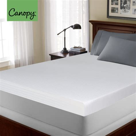 Canopy Memory Foam Mattress Topper by Canopy 4 Quot Memory Foam Mattress Topper Other Home