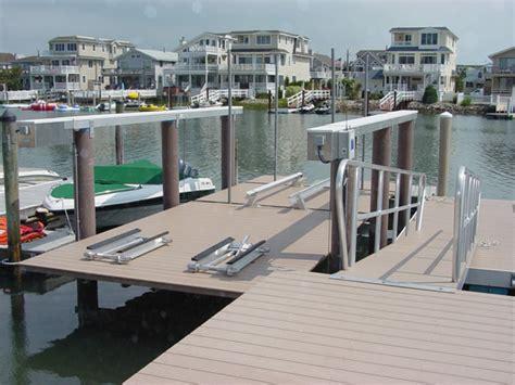 boat lift installation installation no profile boat lifts