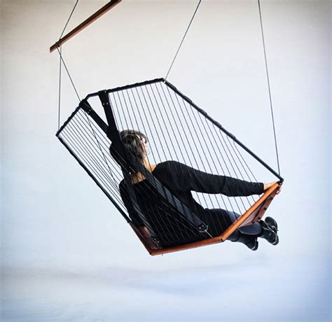 photo hanging hanging chair fubiz media