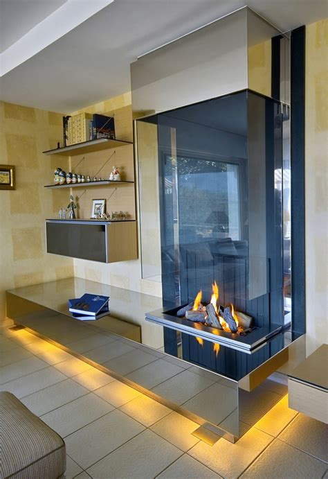 cheminee design moderne modern wall fireplace chemin 233 e mural moderne bloch