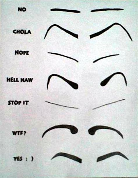 how not to your lmao how not to do your eyebrows just for laughs shape language