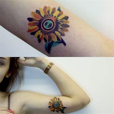 imagenes de tatuajes de girasoles girasol by sasha unisex tatuajes para mujeres