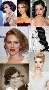haircuts on real vintage styled haircuts and hairstyles for your wedding