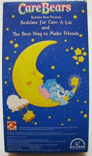 8 Ways To Make New Friends by Care Bears Bedtime For Care A Lot The Best Way Ad