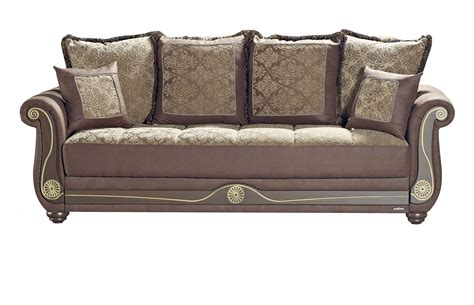 American Style Crown Brown Sofa Bed By Mobista American Sofa Bed