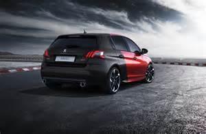 crveno crni peugeot 308 gti predstavljamo automobili