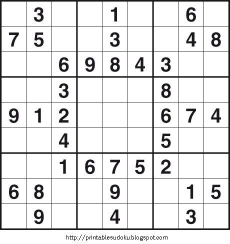 printable outside sudoku puzzles printable easy sudoku on printable sudoku maths