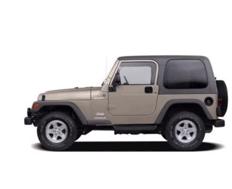 Jeep Wrangler Weight 2006 Jeep Wrangler Se 2dr 4 215 4 Jeep Specs