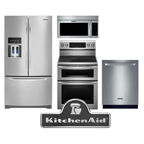 kitchenaid kitchen appliance packages stainless steel appliance package drains strainer