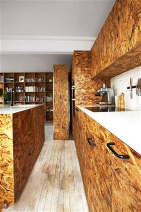 osb kitchen cabinets chipwood betonplex underlayment on pinterest plywood