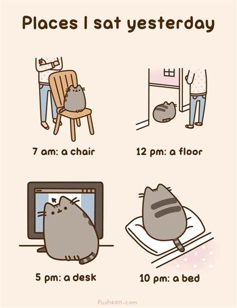 Pusheen Memes - 622 best images about pusheen on pinterest cats kawaii