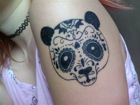 tattoo of panda bear creative panda bear tattoo tattoomagz