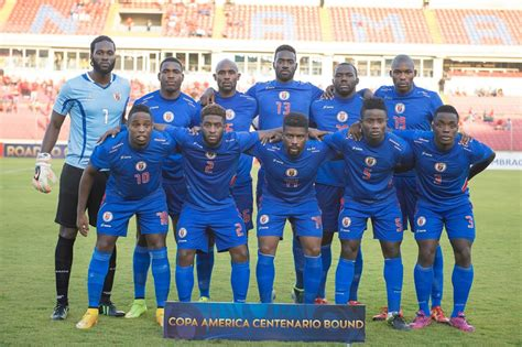 Calendrier 2018 Haiti Selecci 243 N Hait 237 Copa Am 233 Rica 2016 En El Pa 205 S