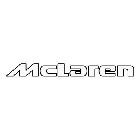 mclaren logo drawing mclaren 1 free vector 4vector