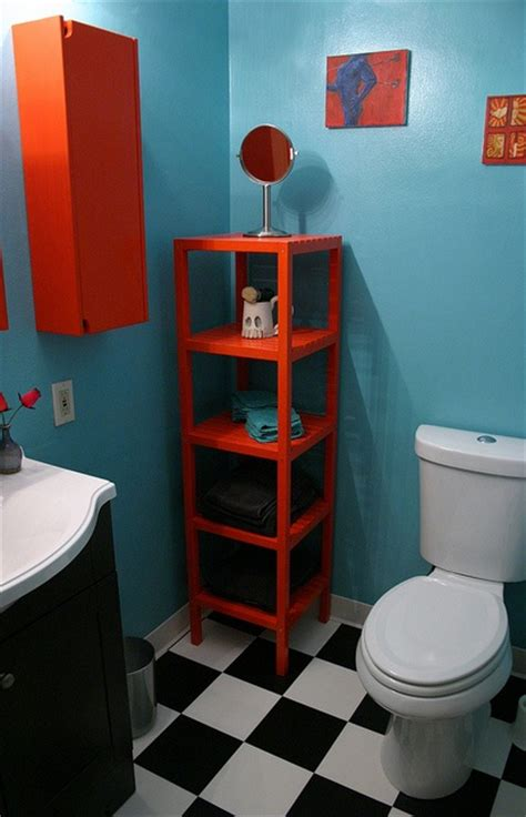 blue and orange bathroom blue and orange bathroom how do i diy pinterest