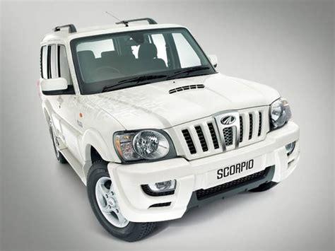 mahindra scorpio car price list mahindra scorpio getaway 2wd 5 seater model mahindra