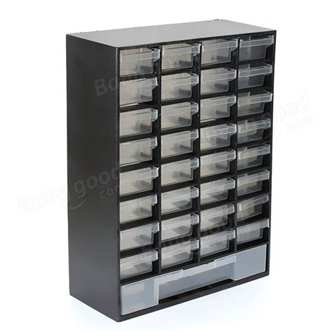hobby small parts storage cabinet organizer box with 33
