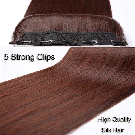 Jual Wig Rambut Palsu Surabaya hair extension wig rambut palsu model 60cm brown jakartanotebook