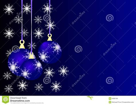 blue christmas baubles stock vector illustration of
