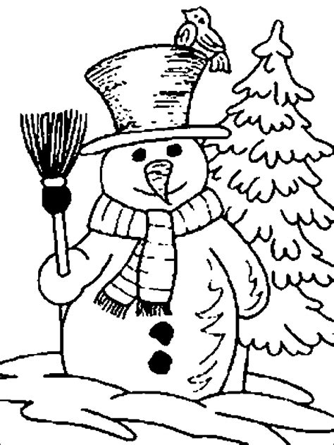 Coloring Pages Winter Coloring Pages And Clip Art Free And Printable Winter Coloring Pages
