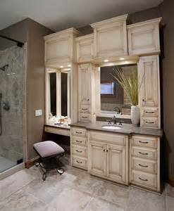 cabinets in bathroom mullet cabinet custom master bathroom suite
