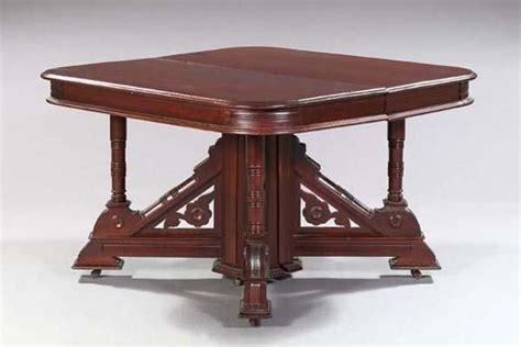 1145 american eastlake walnut dining table