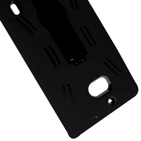 rugged icon for nokia lumia icon 929 hybrid stand rugged tough protective phone cover ebay