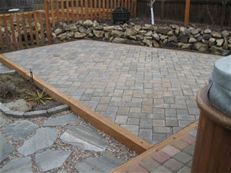 Patio Filler by Dwell Concepts Paver Patio