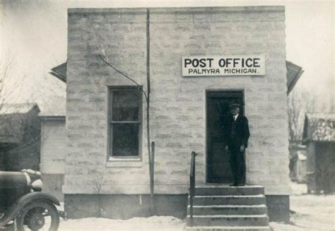 Allegan Post Office by Post Offices In Michigan