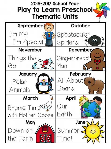 themes kindergarten month 81 best preschool themes images on pinterest toddler