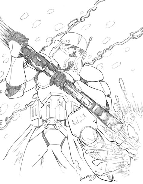 commander fox coloring page commander bly coloring pages coloring pages